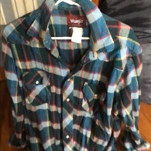 Soft comfy warm wrangler shirt